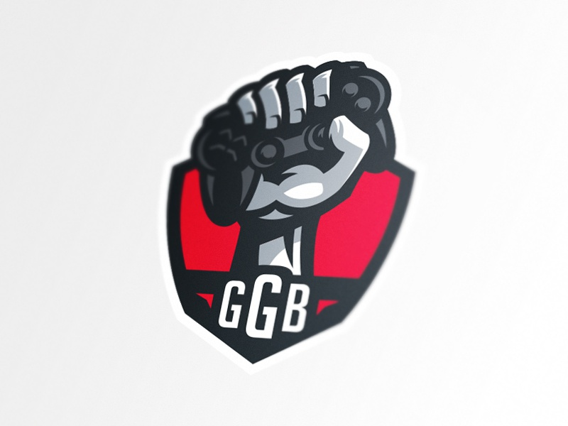 Good Game Bro revamp fist hand gamepad sports mascot logotype logo identity game esports branding