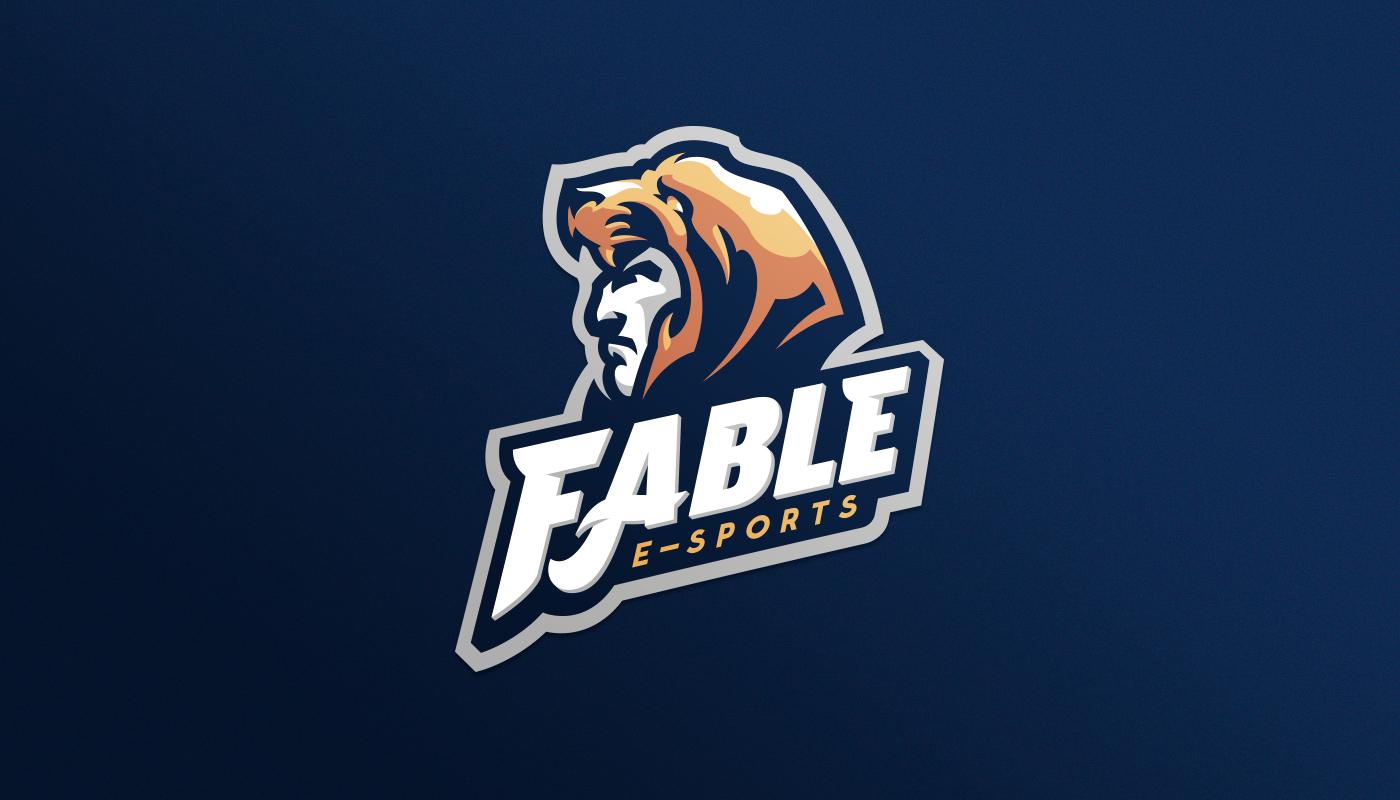 a man wearing a beast character logo