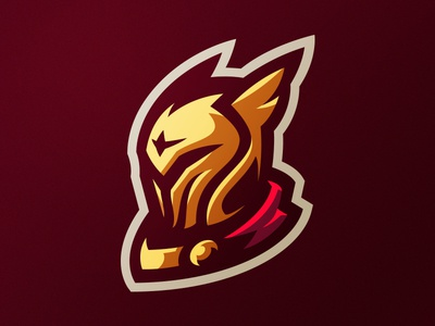 Knight branding identity knight logo logotype squire soldier mascot xbox sport sports middle ages