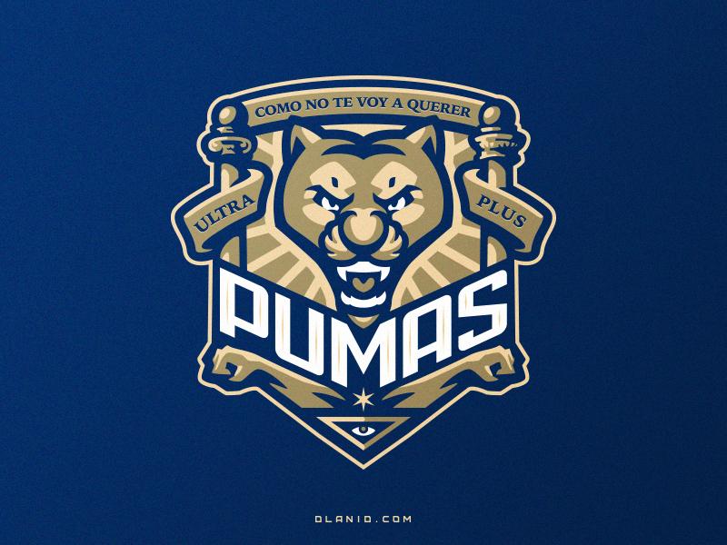 6c3bb3fbcc0 Pumas puma tiger cat fifa soccer football hiwow illustration dlanid  logotype branding identity mascot sports logo. Pumas de la UNAM is a Mexican  ...