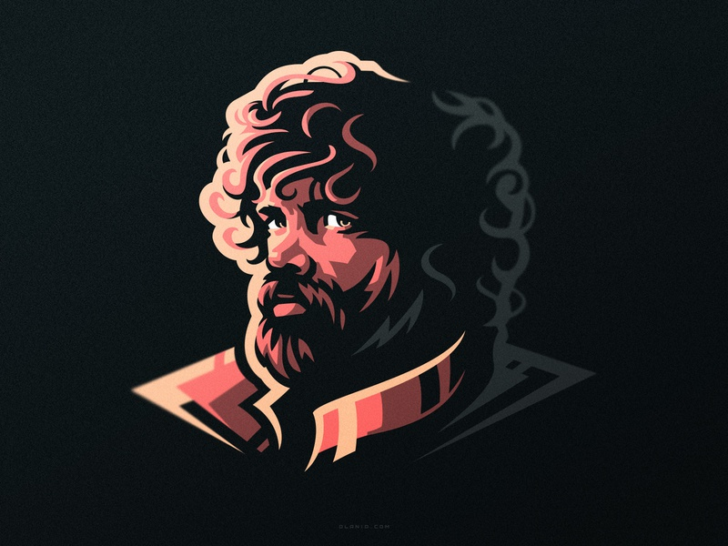Tyrion artwork fanart imp vector game of thrones got illustration dlanid logotype pop art branding logo tyrion tyrion lannister