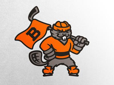 Beaver esports logo sports logo badge hockey design esports illustration dlanid mascot identity branding sports logo beaver