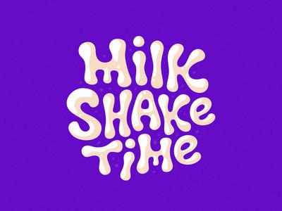 Milkshake time logo