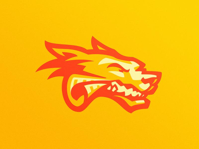 Daily esports logo variation esports logo sports logo dog gaming illustration dlanid mascot identity sports branding logo esports wolf