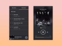 Daily UI - Music player