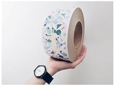 Packaging tape by Stickermule ! stationery background pattern generativeart design tape stickermule