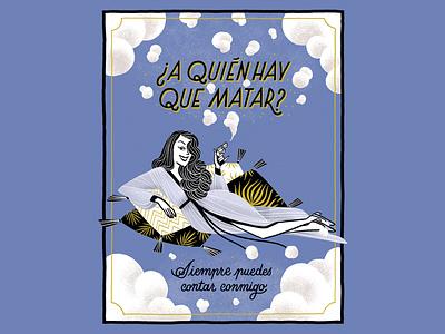 Greeting card greeting card comic illustration