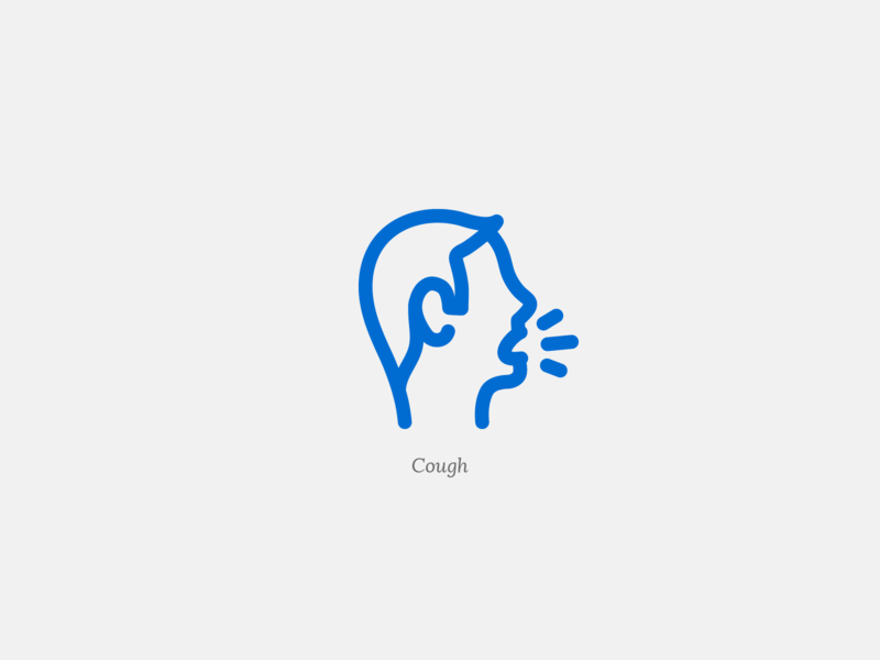 Cough kiko cough human man covid-19 covid 19 covid19 covid line web ux ui vector iconography icons set icon set iconset icons icon