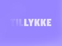 TIL LYKKE