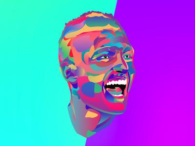Marco Verratti soccer illustration psg