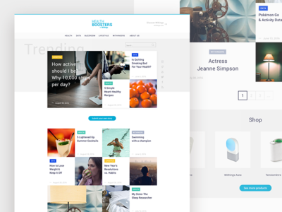 Withings blog redesign #1 blog withings