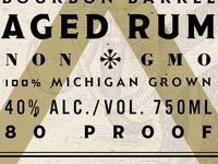 Aged Rum unused concept