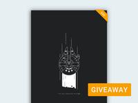 Millennium Falcon Poster Giveaway