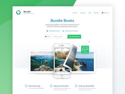 Bundle Website desktop product web landing app homepage webdesign website clean