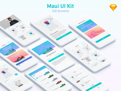 Maui iOS UI Kit