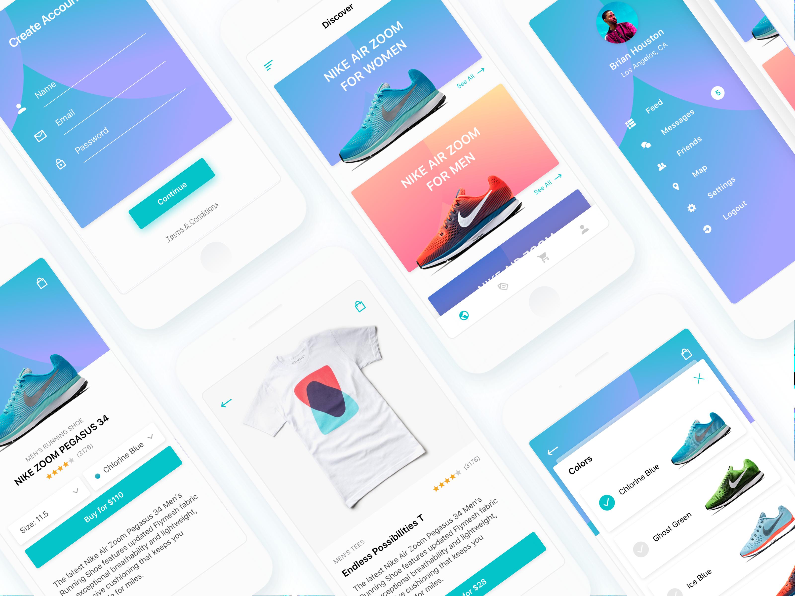 Semas / Projects / Maui iOS UI Kit   Dribbble