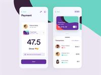 Send Money • Mobile Screen