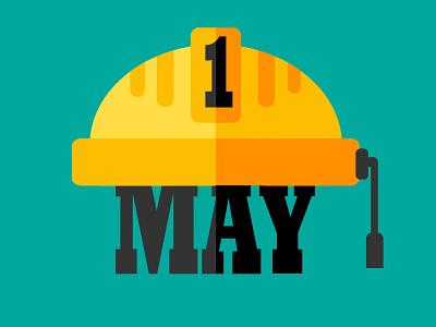 International Worker's day poster design illustration graphicsdesign illustrator
