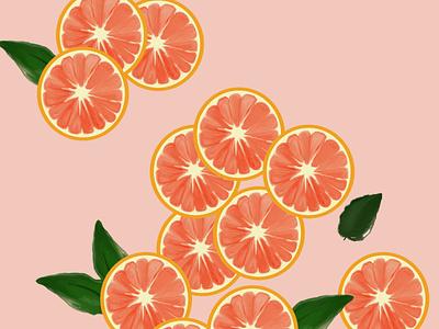 blood orange painting digital illustration digital painting digitalart design illustration graphicsdesign illustrator