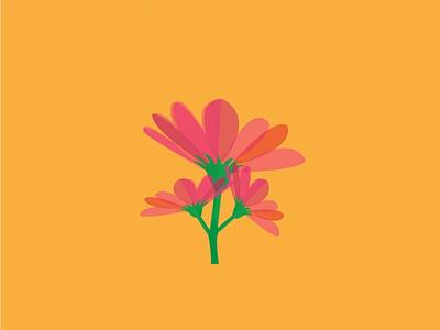 FLOWER AI background design vector branding poster design illustration graphicsdesign illustrator