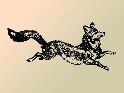 Fox stamp fox