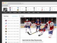 NHL.COM Concept