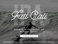 Full Cali IPA Beer