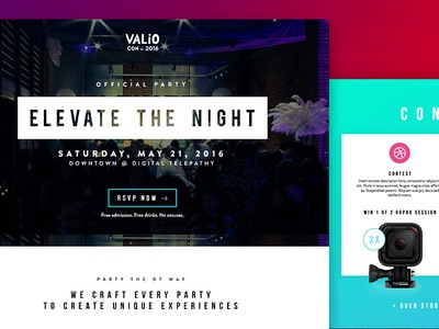 Elevate the Night Party