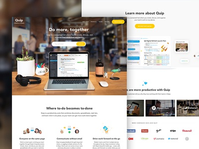 Quip Home Page