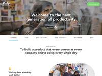 Quip company fullpage