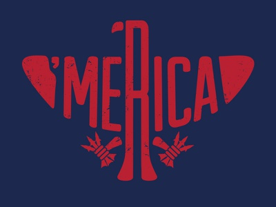 'Merica merica eagle war missiles hawk t-shirt usa