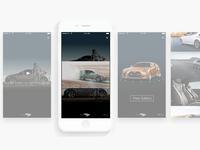 Mobile Rich Media Ad Concept - iOS 8