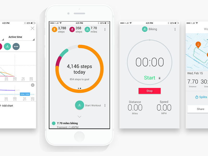 Google Fit Active Tracking By Jason Vestri