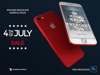 IPhone 7 Mockup promo