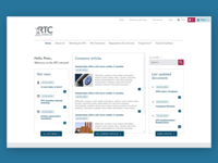 Intranet for RTC (Volkswagen)
