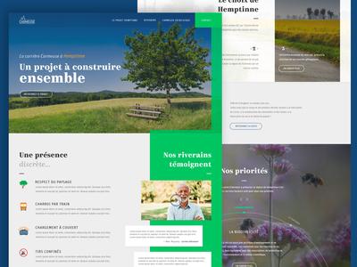 Carmeuse Hemptinne - homepage