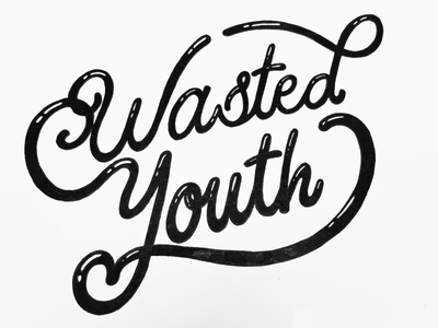 Wasted Youth Sketch