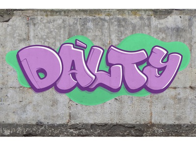 Dalty Hand Letter