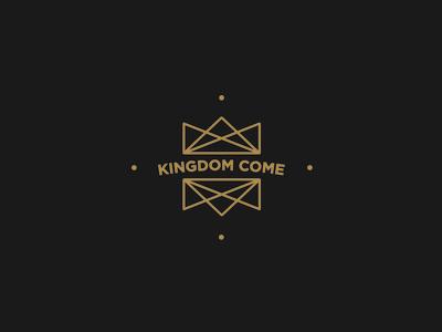 Kingdom Come chiasm illustration jesus royal kingdom crown logo crown