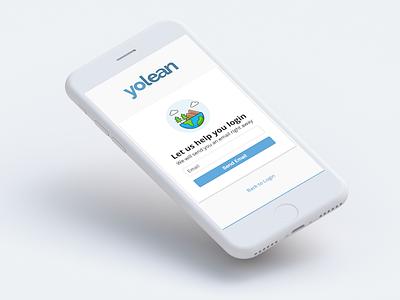 Yolean Login mobile login