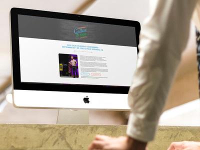 CGASC 2015 Splash Page digital gear museo slab future splash web design chalk