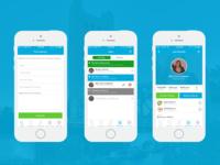NannyMe App Design