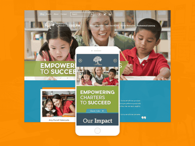 El Dorado Charter SELPA design mobile desktop pier sans aleo education school