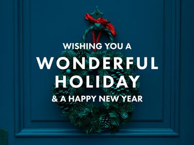 Happy Holidays Dribbble!