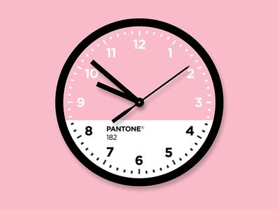 Pantone® Clock