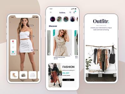 E-commerce app ux dribble ui app design