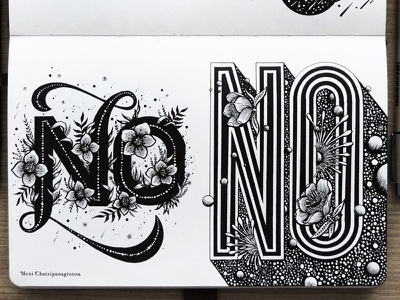 No drawing illustration art space abstract handmade logo typography type lettering graphic design handlettering