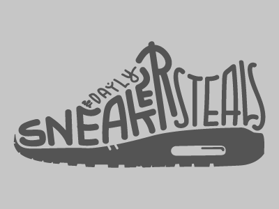 Daily Sneaker Steals Logo By Marvin Steenoven Dribbble Dribbble