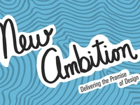 New Ambition Conference Portcard