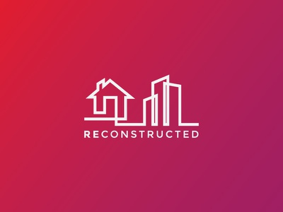 Re Constructed newlogodesign logodesign logo